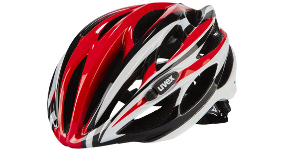 UVEX race 1 Helm red-white